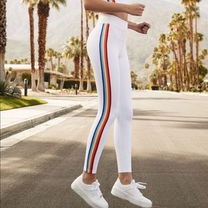 Spiritual Gangster: Rainbow Stripe Track Tight